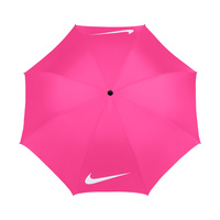 Nike 62 Inch Windproof VII Pink Umbrella
