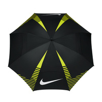 Nike 62 Inch Windsheer Umbrella - Black/Volt