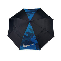 Nike 62 Windsheer Lite II Umbrella - Black/Silver- Photo Blue