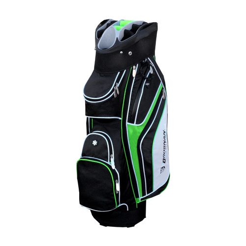 Brosnan Oz Cool V Golf Cart Bag - Lime
