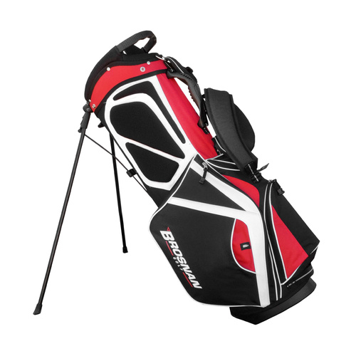 Brosnan Swagman 5.0 Golf Stand Bag - Red