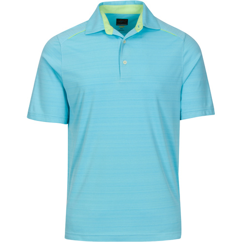 Greg Norman Weatherknit Blade Polo Blue [Size:Small]