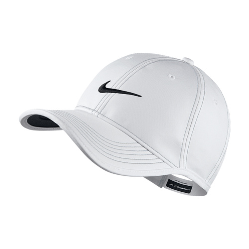 Nike Ultralight Contrast Cap - White/Wolf Grey/Black