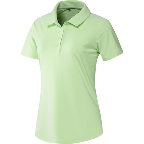 adidas Ladies Ultimate365 Polo Shirt - Green [Size:Small]