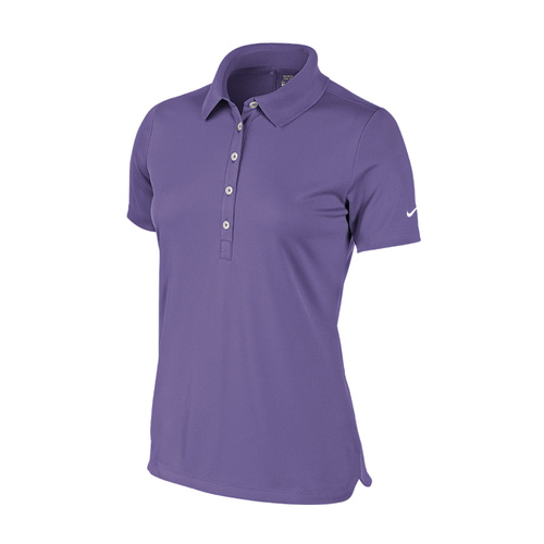Nike Ladies Tech Pique Polo - Purple Haze [Size: Small]