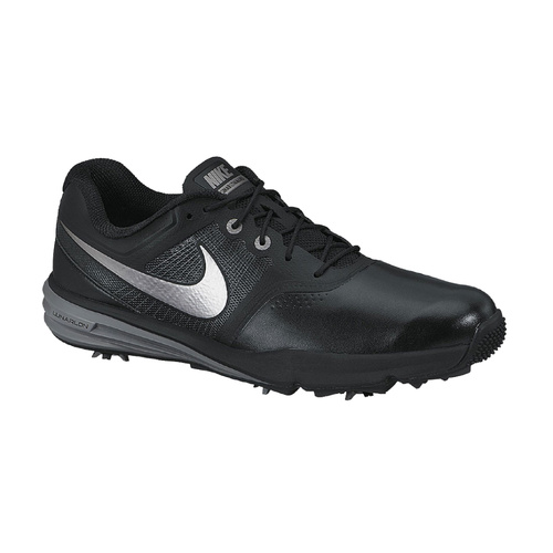 Nike Lunar Command Mens Golf Shoes - Black/Metalic CoolGrey/Cool Grey [Size: 7.5 US]