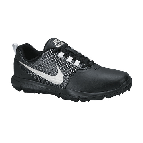 Nike Explorer Mens Golf Shoes - Black [Size: 7.5 US]