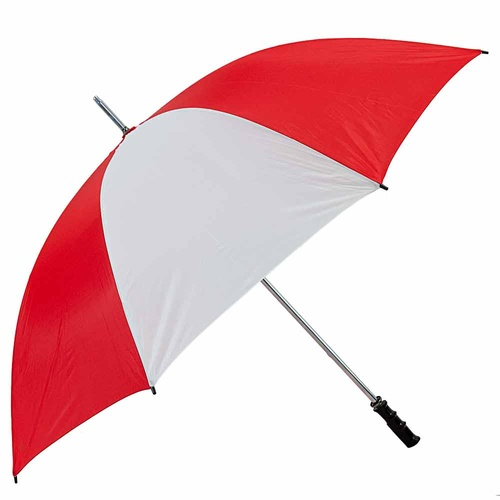 Brosnan Mustang 60 Inch Umbrella (NL Red/White)